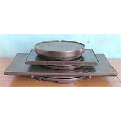 Photo1: No.S-290  Turntable(square, Large)* [5500g/60x40cm]