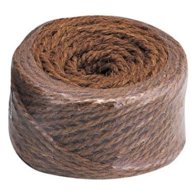 Photo1: No.1174  Hemp-palm rope brown 100M [400g]