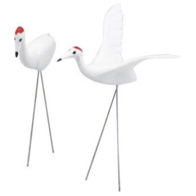 Photo1: No.1761  Crane, pair