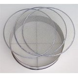 No.60277  Stainless Soil Sieves(2,4,7mm) [540g/37cm]