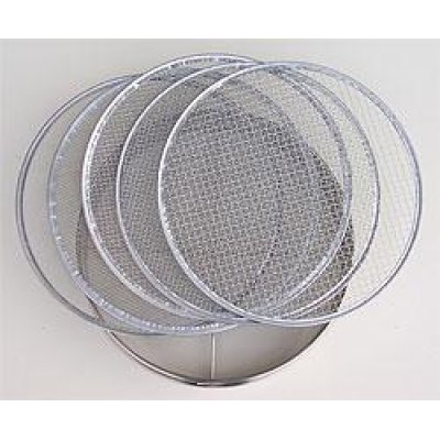 Photo1: No.60319  Stainless Soil Sieves(1,2,4,7,10mm) [850g/30cm]