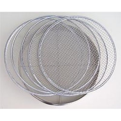 Photo1: No.60320  Stainless Soil Sieves(1,2,4,7,10mm) [1000g/37cm]