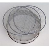 No.60276  Stainless Soil Sieves(2,4,7mm) [520g/30cm]