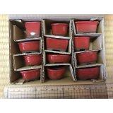 No.303  Bunzan, Mame bonsai pot, 12pcs